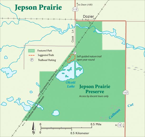 Jepson trail map