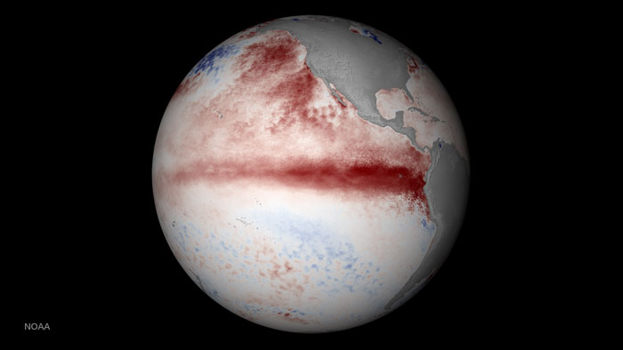 July 2015 temperature anomalies. (Image generated by NOAA Earth Visualization Laboratory.)