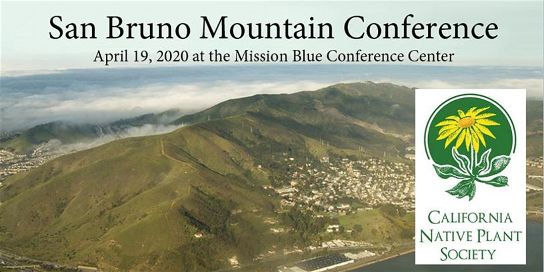 San Bruno Mountain Conference poster